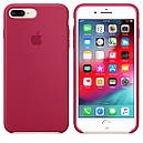 Чехол Apple Silicone Case для iPhone 8 Plus Rose Red (1682), фото 2