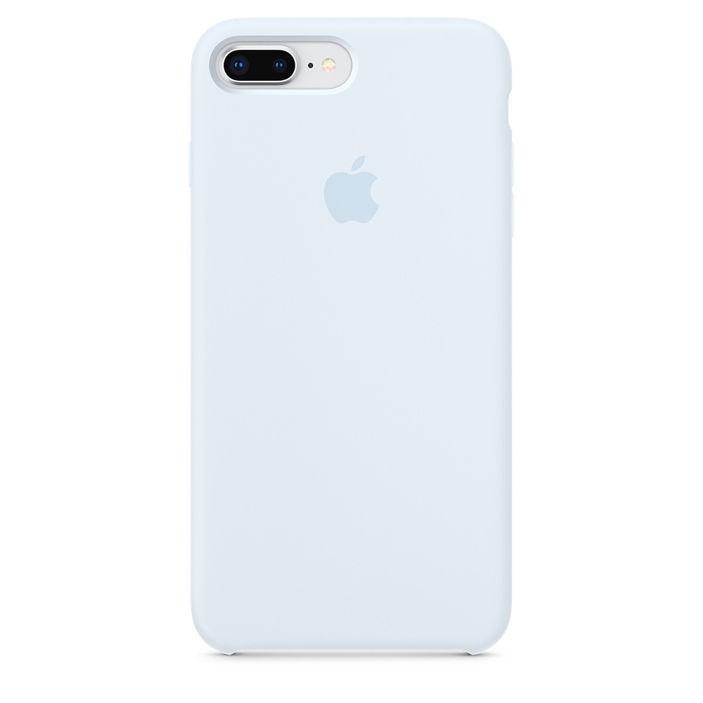 Чехол Apple Silicone Case для iPhone 8 Plus Sky Blue (16833)