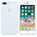 Чехол Apple Silicone Case для iPhone 8 Plus Sky Blue (16833), фото 4