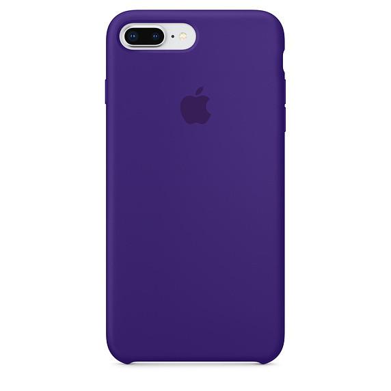 Чохол Apple Silicone Case для iPhone 8 Plus Ultra Violet (1684)