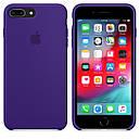 Чохол Apple Silicone Case для iPhone 8 Plus Ultra Violet (1684), фото 4