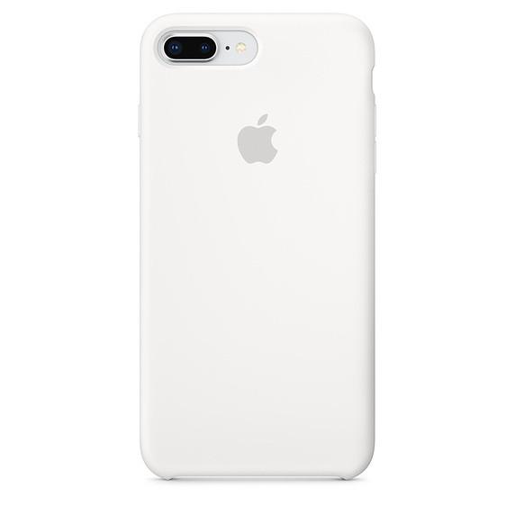 Чохол Apple Silicone Case для iPhone 7 Plus White (1675)