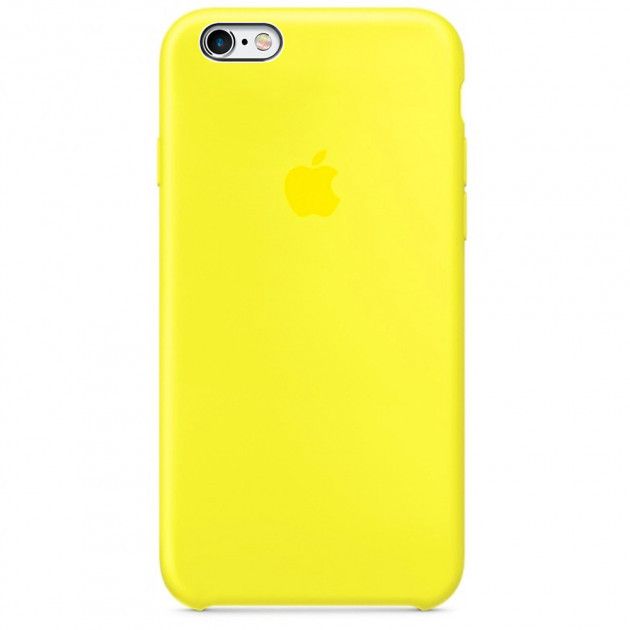 Чехол Apple Silicone Case для iPhone 6/6s Flash (1688)