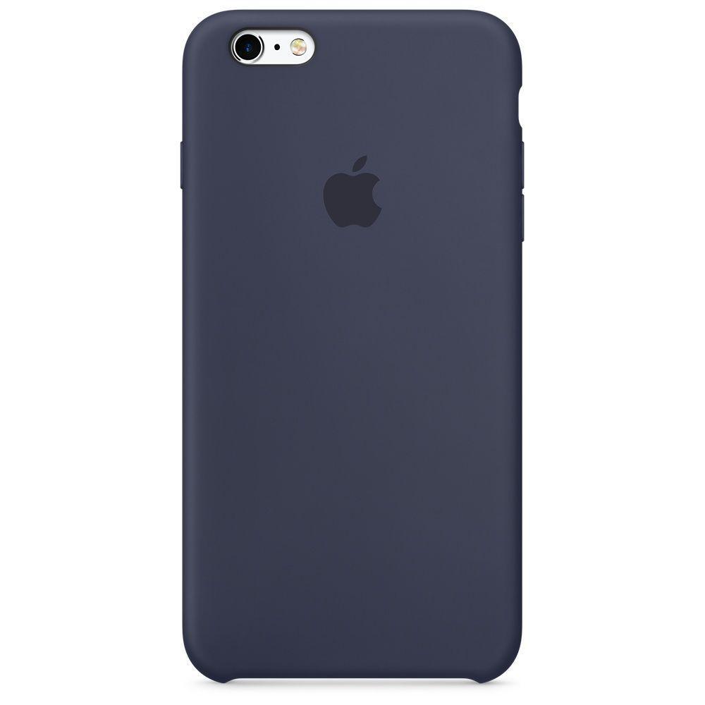 Чохол Apple Silicone Case для iPhone 6/6s Midnight Blue (1689)