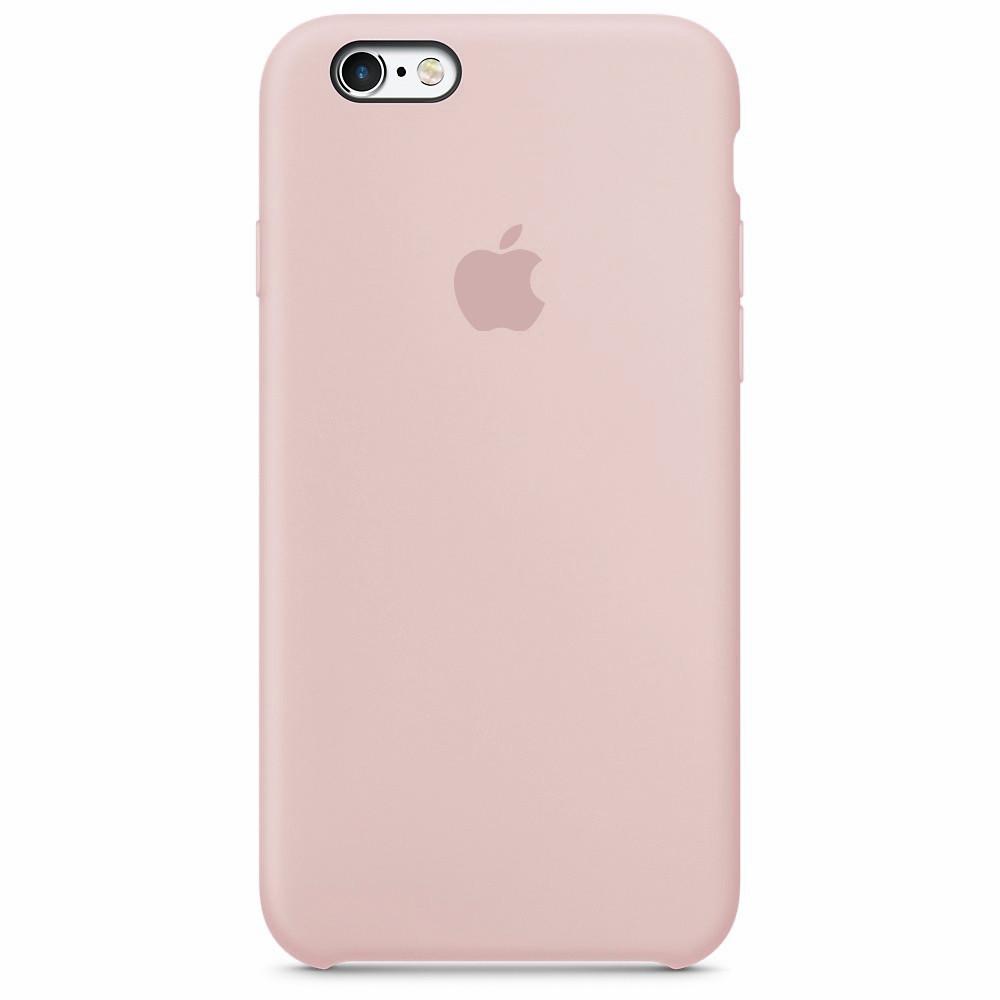 Чохол Apple Silicone Case для iPhone 6/6s Pink Sand (1690)