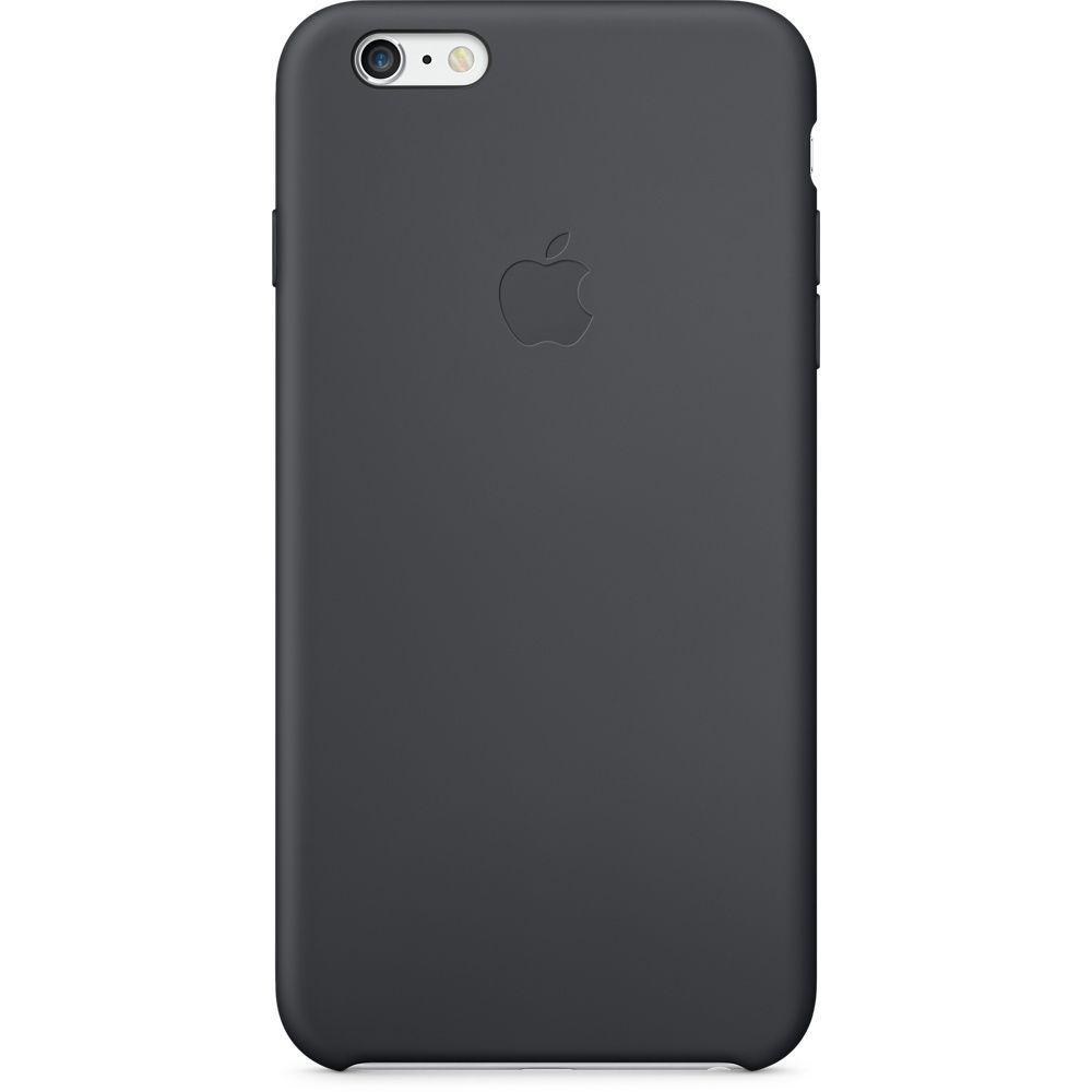 Чохол Apple Silicone Case для iPhone 6 Plus/6s Plus Black (1696)