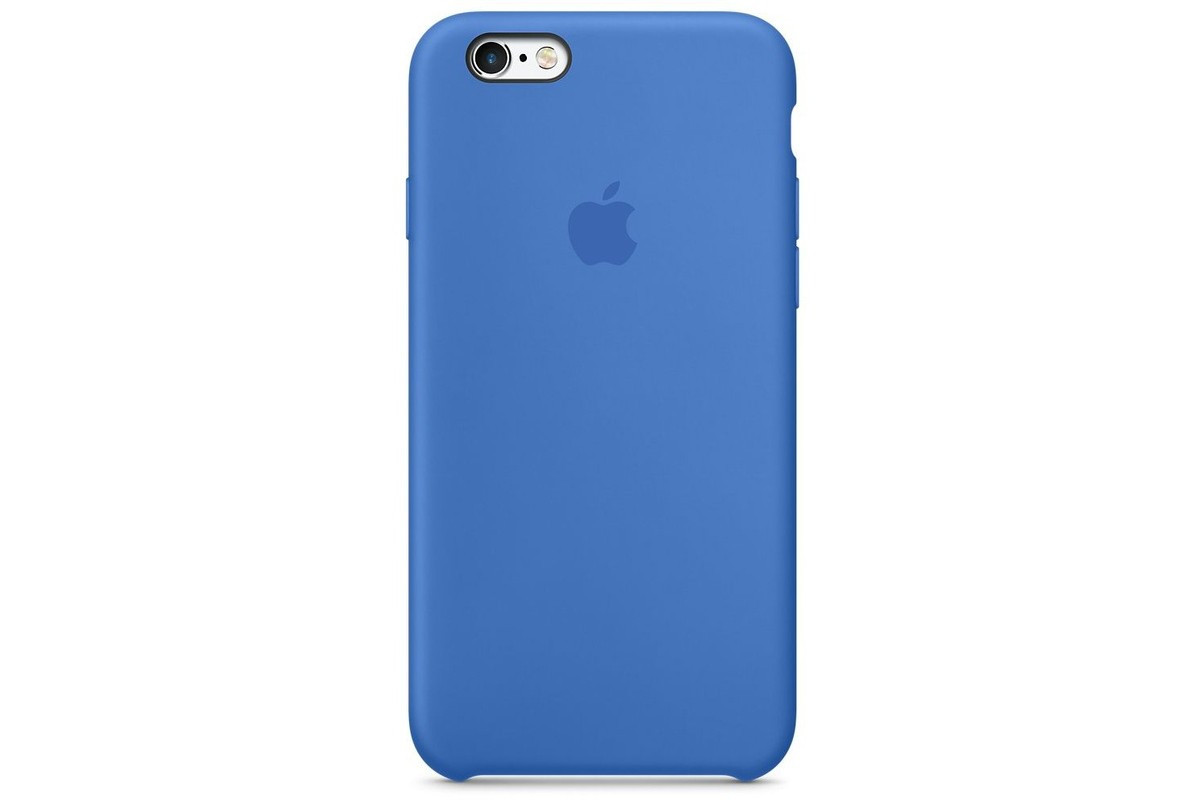Чохол Apple Silicone Case для iPhone 6 Plus/6s Plus Blue Cobalt (1697)