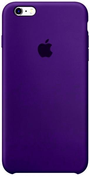 Чехол Apple Silicone Case для iPhone 6 Plus/6s Plus Ultra Violet (1704)