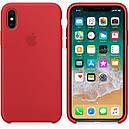 Чехол Apple Silicone Case для iPhone X/Xs Красный (1711), фото 2