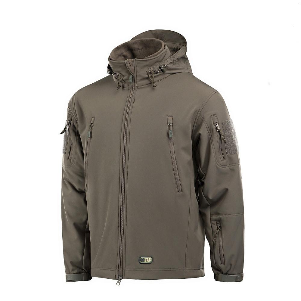M-Tac куртка Soft Shell з підстібкою Olive софтшел зимова олива