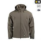 M-Tac куртка Soft Shell з підстібкою Olive софтшел зимова олива, фото 2