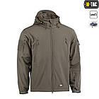 M-Tac куртка Soft Shell з підстібкою Olive софтшел зимова олива, фото 3