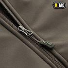 M-Tac куртка Soft Shell з підстібкою Olive софтшел зимова олива, фото 5