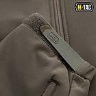 M-Tac куртка Soft Shell з підстібкою Olive софтшел зимова олива, фото 7