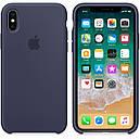 Чехол Apple Silicone Case для iPhone Xr Midnight Blue (1719), фото 2