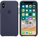 Чохол Apple Silicone Case для iPhone Xr Midnight Blue (1719), фото 2