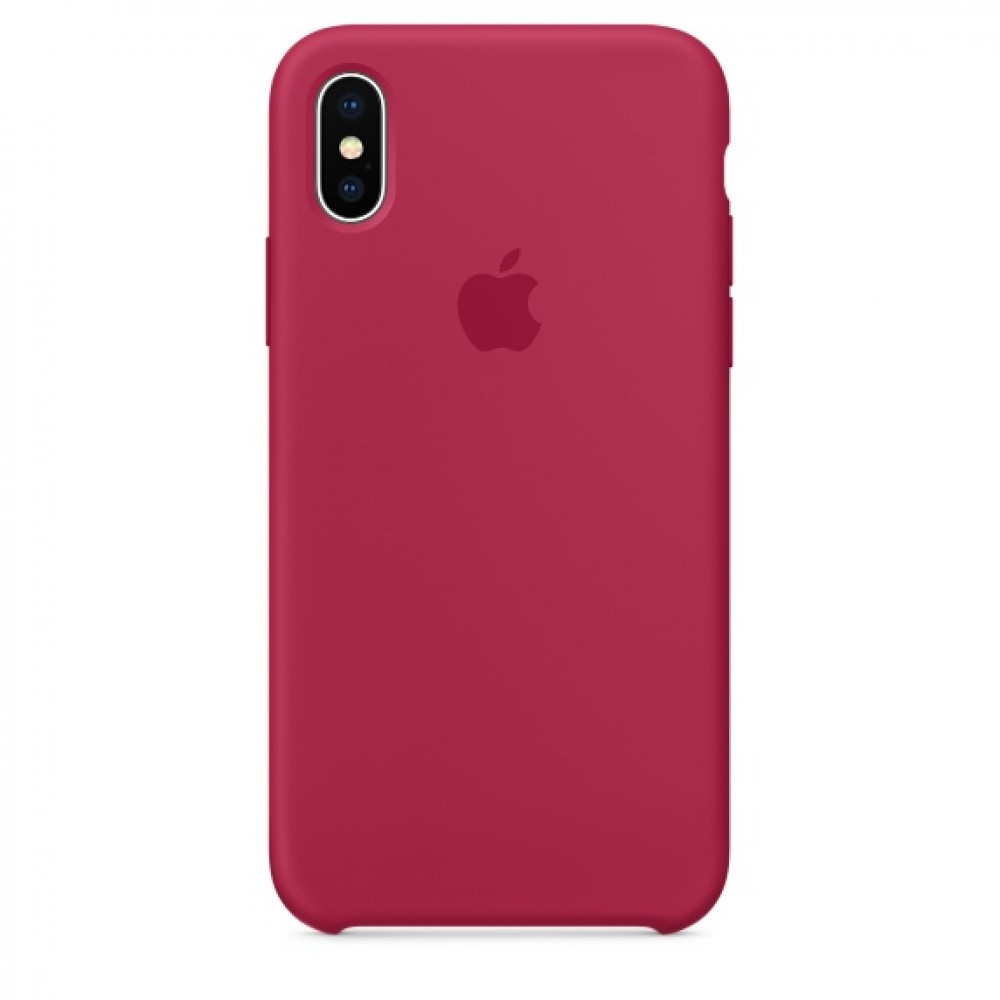 Чохол Apple Silicone Case для iPhone Xr Rose RED (1722)