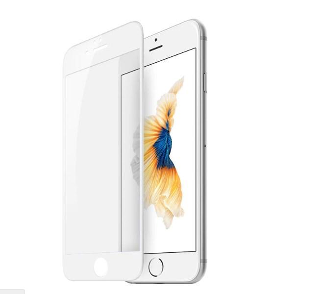 Захисне скло iMax 3D Japanese Material для iPhone 8 Білий (1801)