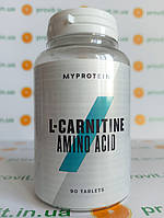 Л-карнитин MyProtein L-carnitine 90 таб.