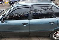 Ветровики, дефлекторы окон Audi 80 1986-1995г. (ANV)