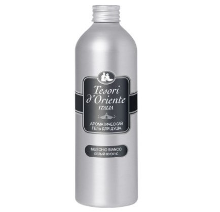 Tesori d´Oriente Крем-масло для ванны и душа белый мускус 500 мл