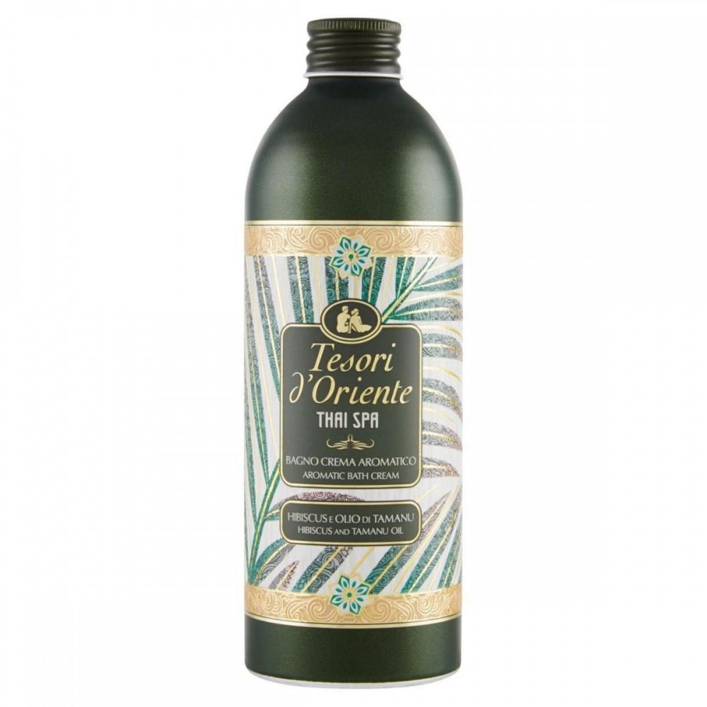 Tesori d´Oriente Крем-масло для ванны и душа гибискус и масло таману 500 мл