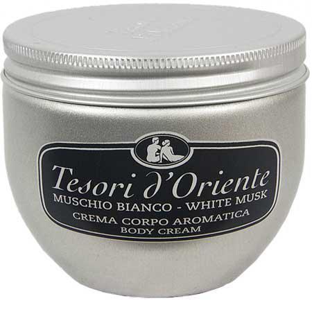 Tesori d´Oriente Крем для тела белый мускус 300 мл