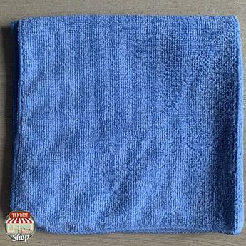 Полотенце из микрофибры Q-Refinish, 40 мм x 40 мм Синий