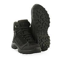 M-Tac ботинки тактические демисезонные черные