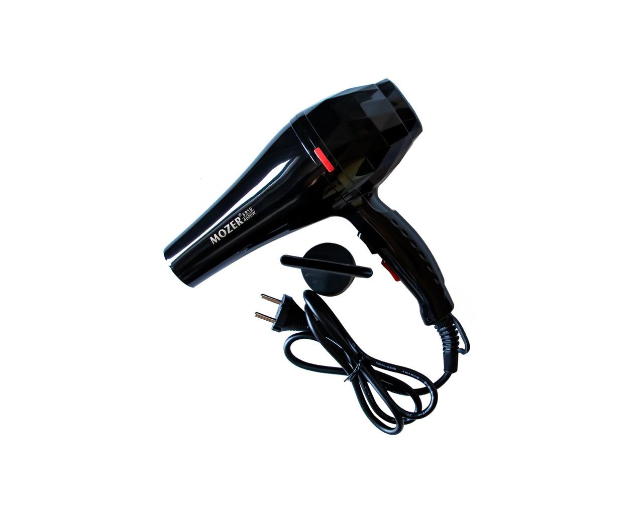 Професійний фен Mozer 4000 Вт Чорний (2231)