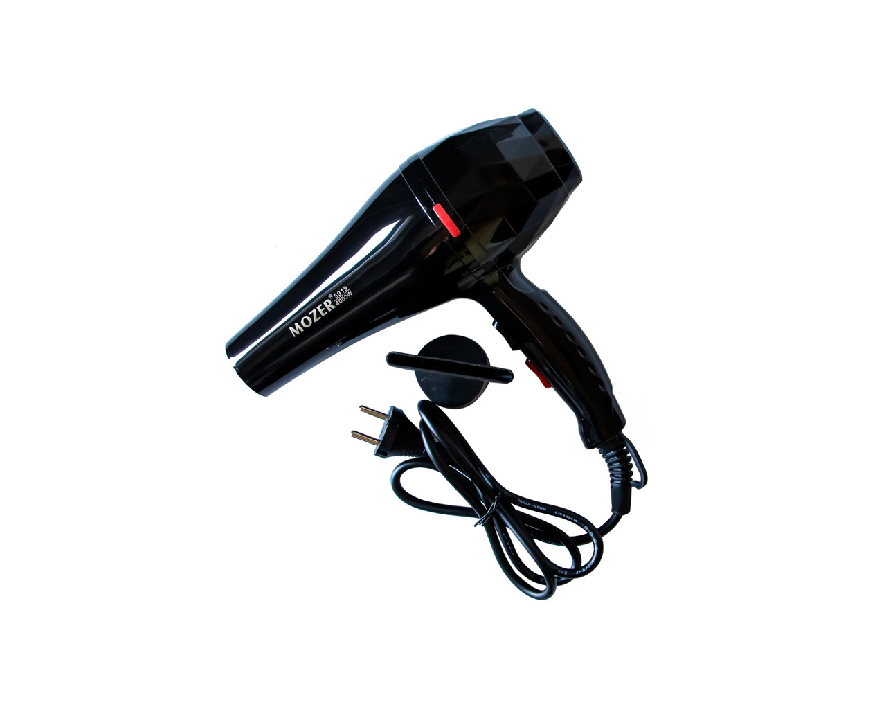 Профессиональный фен Mozer 4000 Вт Черный (2231)