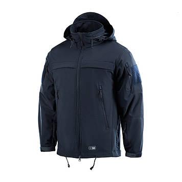 M-Tac куртка Soft Shell Police Navy Blue поліція софтшел темно-синя