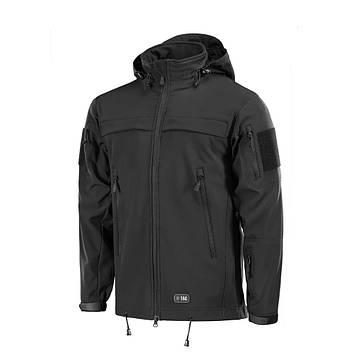 M-Tac куртка Soft Shell Police Black софтшел поліція чорна