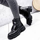 Ботинки женские Plesh черные ЗИМА 2517, фото 2