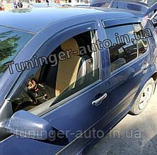 Ветровики, дефлекторы окон Volkswagen Golf 4 1997-2005 (Hic)