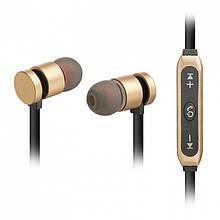 Bluetooth-навушники Walker WBT-12 Золотий