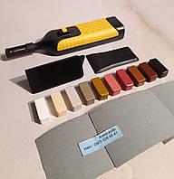 Набор твердых восков с паяльником, для реставрации мебели, плитки, ламината NEARBY №5В