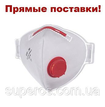 Респиратор Бук - 3К с клапаном, FFP3
