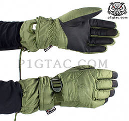 """Рукавиці польові зимові P1G-TAC """"OD"""" Size M"""