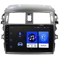 """Штатная автомобильная магнитола 9"""" Toyota Corolla 2006-2013, 2/16GB, Android 10"""