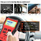 Тестер автомобильного аккумулятора Ancel BST100 OBD2 для диагностики батареи и зарядки автомобиля, фото 3
