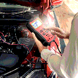 Тестер автомобильного аккумулятора Ancel BST100 OBD2 для диагностики батареи и зарядки автомобиля, фото 2