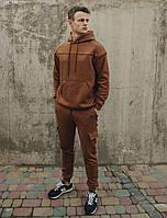 Спортивный костюм Staff collis brown fleece, фото 1