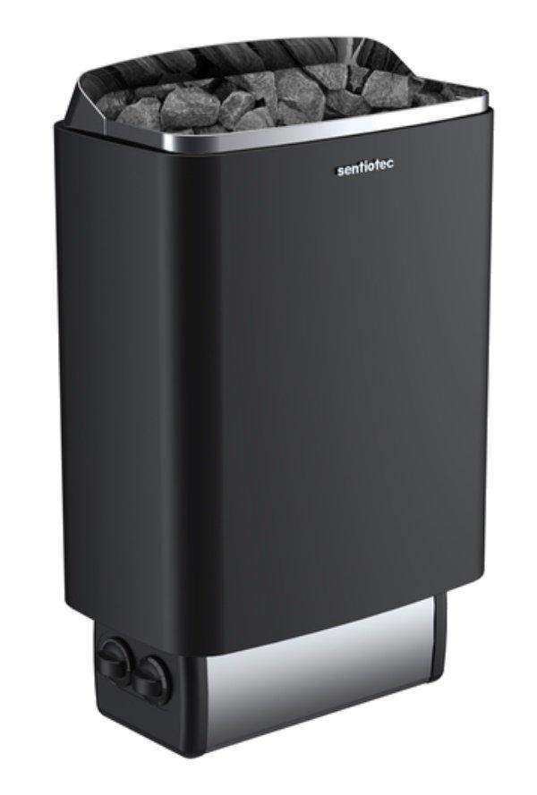 Електрокам'янка для сауни та лазні Sentiotec 145 4,5 кВт (1-048-255) чорна