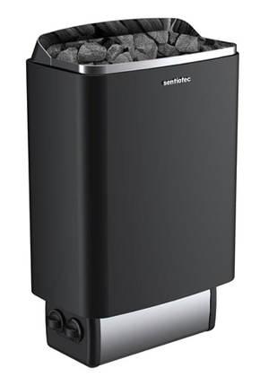 Електрокам'янка для сауни та лазні Sentiotec 145 4,5 кВт (1-048-255) чорна, фото 2