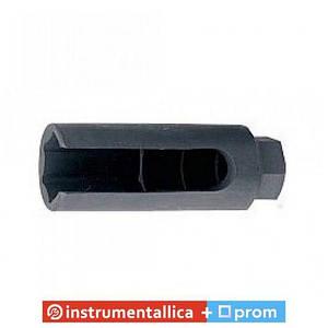 Ключ для датчика лямбда зонд с шарнирным воротком-адаптером под пневмозубило 22 мм 3/8 в блистере F-907G25