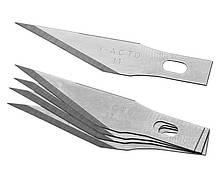 Лезвия №11 X-ACTO для макетного модельного ножа 5шт под цанговый зажим (EN-0081-11)