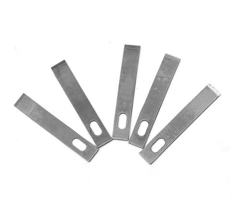 Лезвия №4 Kaisi для макетного модельного ножа 5шт под цанговый зажим (EN-0081-04)