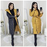Пальто женское двустороннее, фото 1