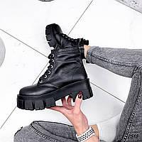 Черевики жіночі Nino чорні 2515 ЗИМА, фото 1